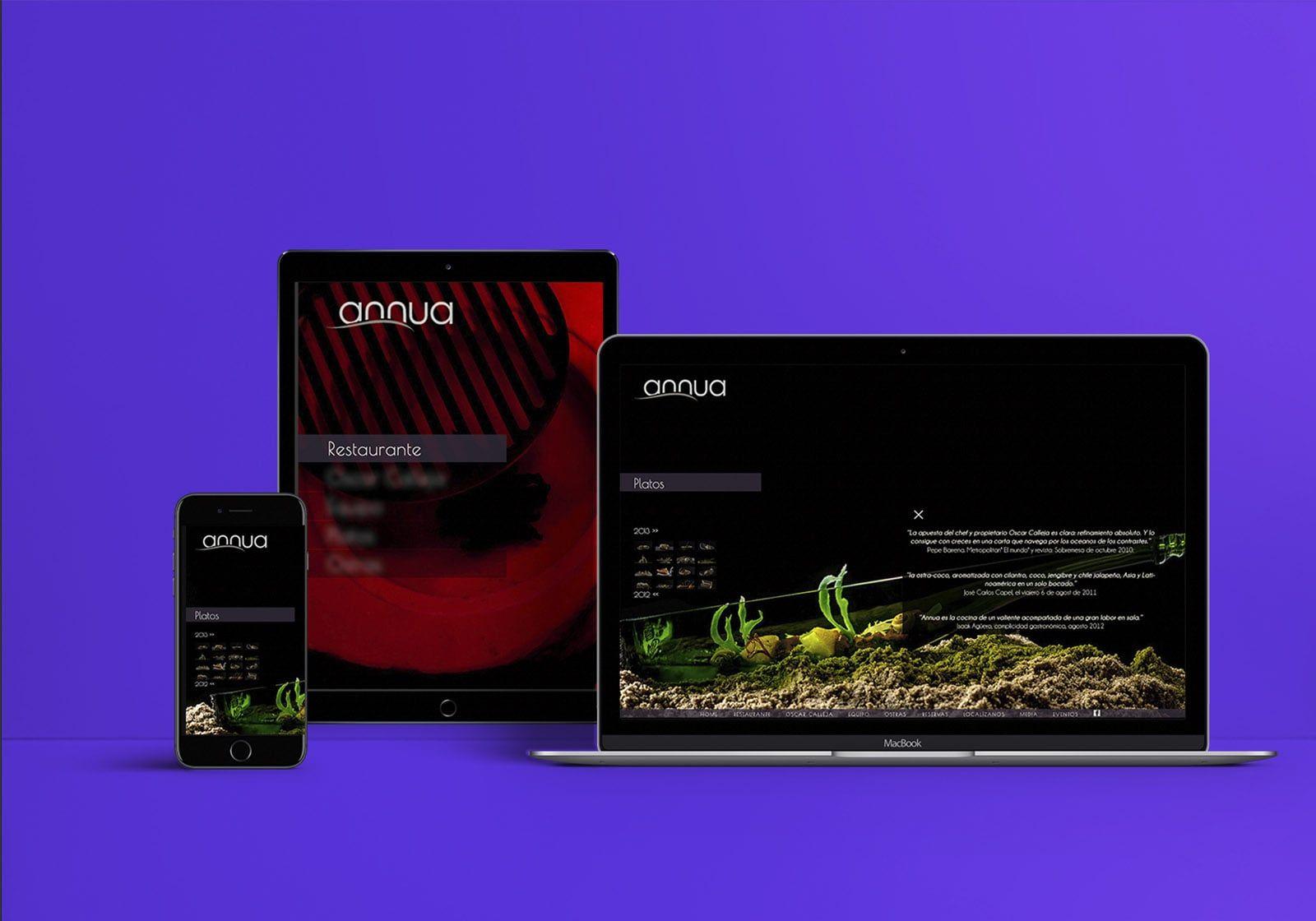 diseño web restaurantes estrella michelin